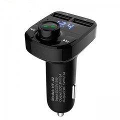 Car MP3 Audio Player Bluetooth Car Kit FM Transmitter Handsfree Calling 5V 4.1A Dual USB Car Charger Phone Charger