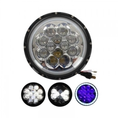 7 Inch Round LED Headlight for Trucks 60W 6000K 5W High Power LED 12Leds 4000LM 12V IP65 High Low Beam